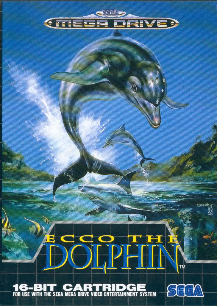les licences oubli es 12 ecco the dolphin cousin virtuel de flipper le dauphin. Black Bedroom Furniture Sets. Home Design Ideas