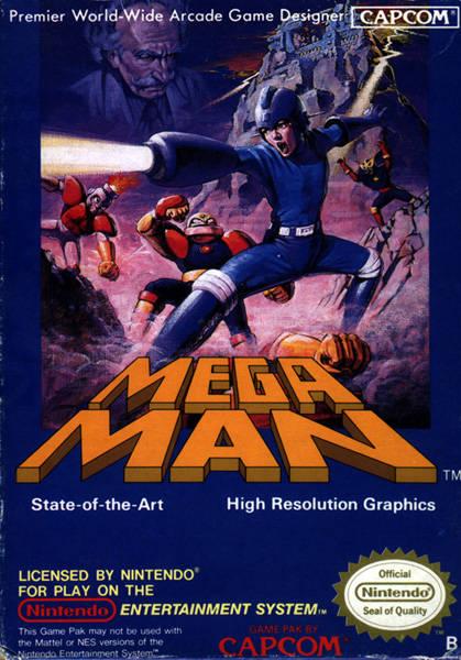 Box art disparity famicom nes for Megaman 9 portada